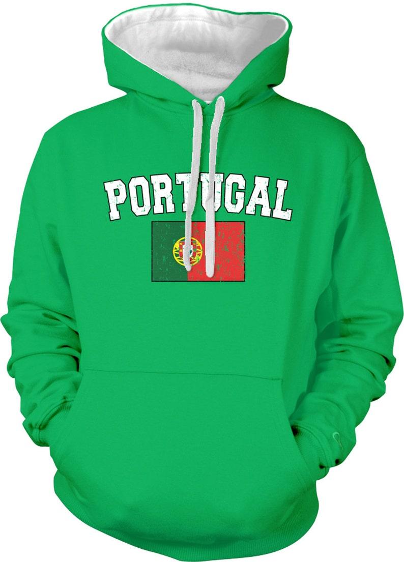 b6d1279c2 PORTUGAL Flag Country Sweatshirt. Portuguese Pride | Etsy
