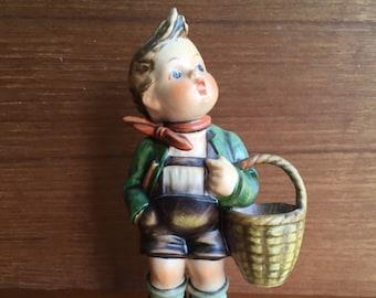 Vintage Goebel Hummel Village Boy TMK3SB 1960-1972 Germany 51/0
