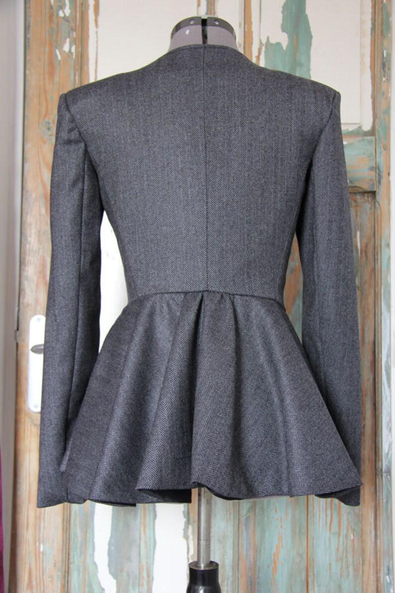 pants set trousers suit pants suit two piece outfit Women tailored gray suit businesswoman suit business suit office wear