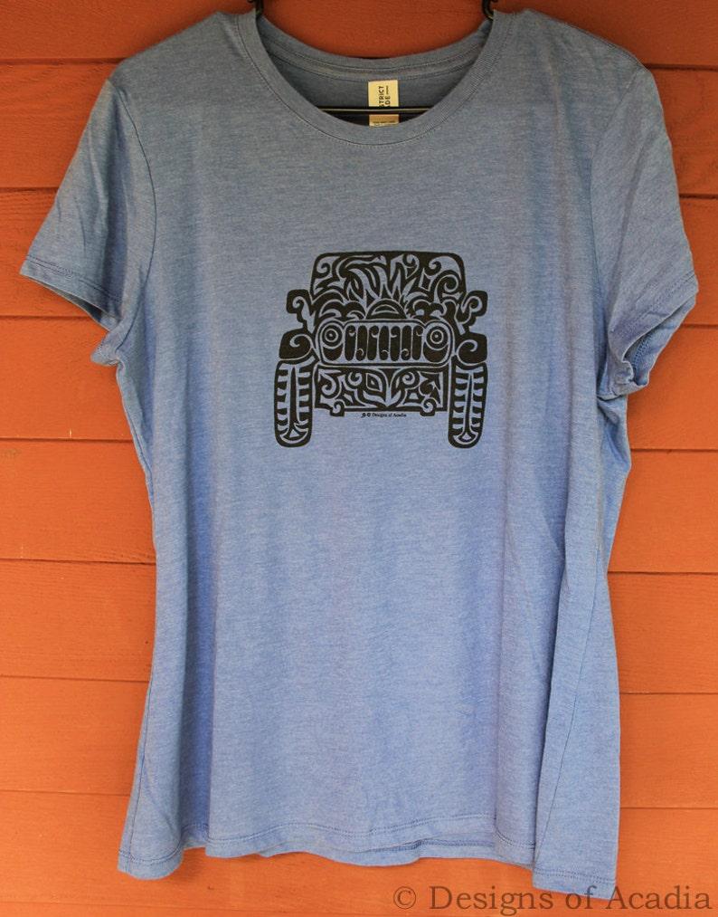 19d8fbdf JEEP Tribal Tattoo LADIES Tri-Blend S/S T-Shirt S-2XL | Etsy