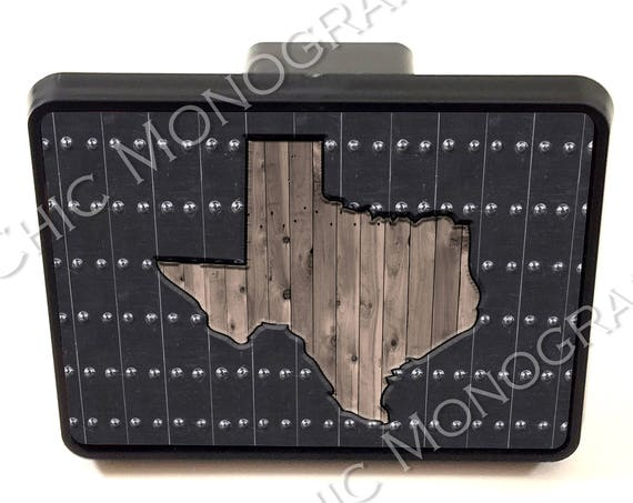 Trailer Hitch Cover, Car Gifts for Men, Fathers Day Gift Custom Gift Car Accessories For Men For Dad State Texas