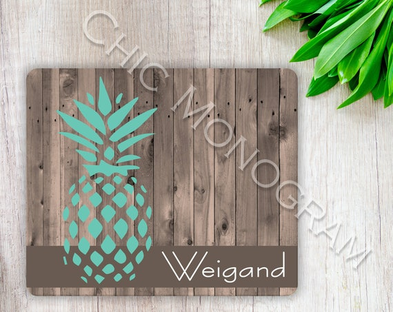 Gifts for Grandma Gifts for Mom Rustic Pineapple Trivet Mothers Day Personalized Hardboard Kitchen Hot Pad Table Protector Easter Gift