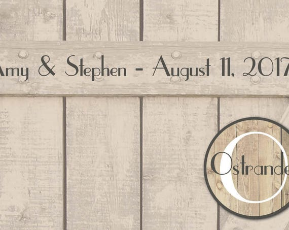 Rustic Wood Placemats Rustic Barn Door Rehearsal Dinner Placemats Personalized Wedding Placemats Rustic Wedding Decor Barn Wedding Place Mat