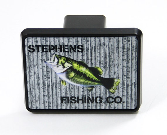Fishing Gifts For Dad For Grandpa Fishing Gifts for Him For Men Fish Father's Day Gift Metal Front License Plate & Trailer Hitch Cover