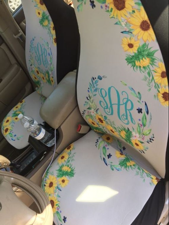 Remarkable Seat Covers Seat Covers For Car Seat Covers For Car For Women Sunflower Car Accessories Monogram Seat Covers For Car Car Accessories Spiritservingveterans Wood Chair Design Ideas Spiritservingveteransorg