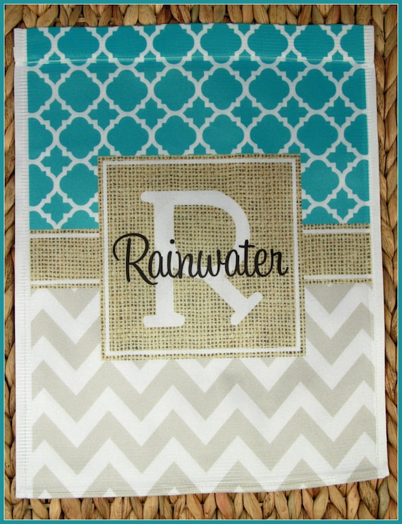 Garden Flag Monogrammed Personalized Outdoor Garden Decor Unique Gifts for Mom Gifts for Grandmothers Housewarming Gift Hostess Gift