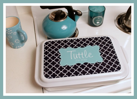 Gift Ideas Casserole Dish Monogrammed Gift Personalized Home and Living Kitchen Housewarming Wedding Shower Cake Pan Hostess