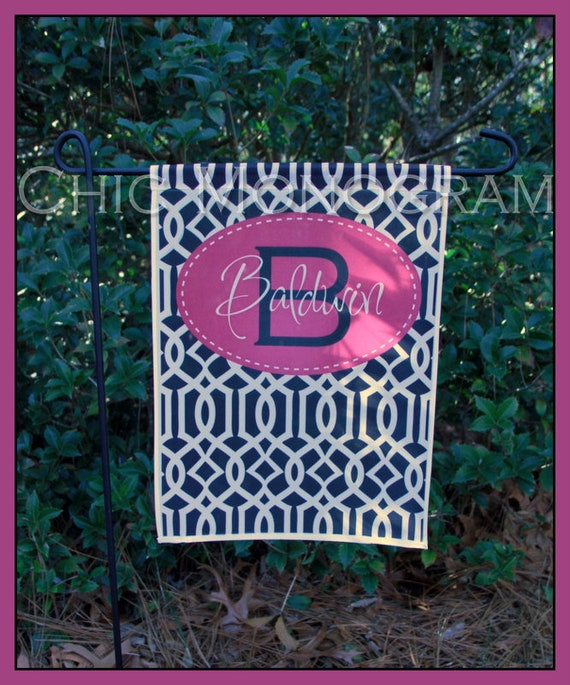 Garden Flag Monogrammed Personalized Outdoor Garden Decor  Mothers Day Gift Yard Garden Gift, Custom Gifts for Mom, Unique Hostess Gift