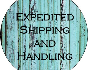 Upgrade for Expedited Shipping