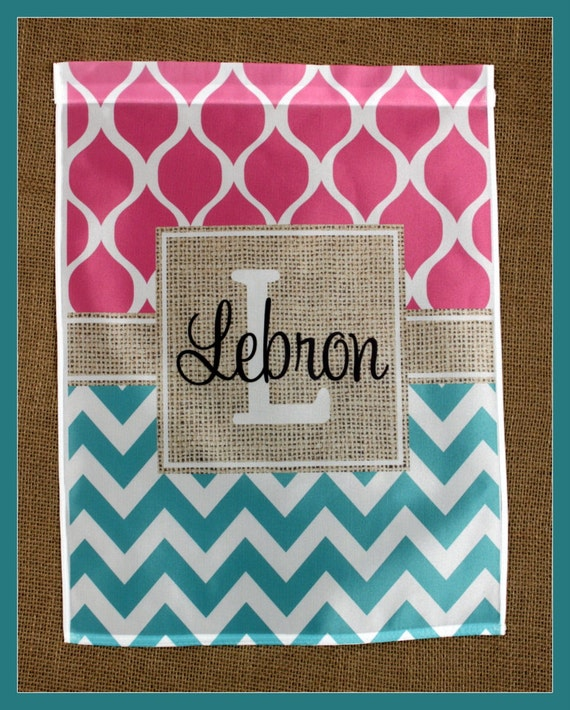 Spring Garden Gift for Grandma Personalized Garden Flag Monogrammed Personalized Outdoor Garden Decor Yard Garden Gift Unique Gifts for Mom