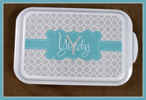 Casserole Dish Gift Ideas Monogrammed Gift Personalized Home Living Kitchen Housewarming Wedding Shower Cake Pan Hostess Sailor Pattern