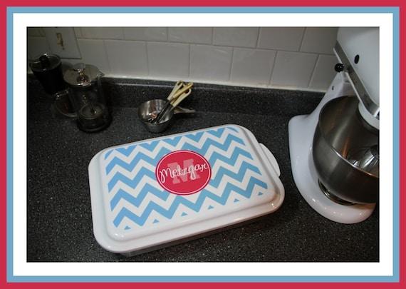 Monogrammed Casserole Dish, Personalized Casserole Dish, Monogrammed Dish, Personalized Dish, Monogrammed Housewarming Gift, Wedding Gift