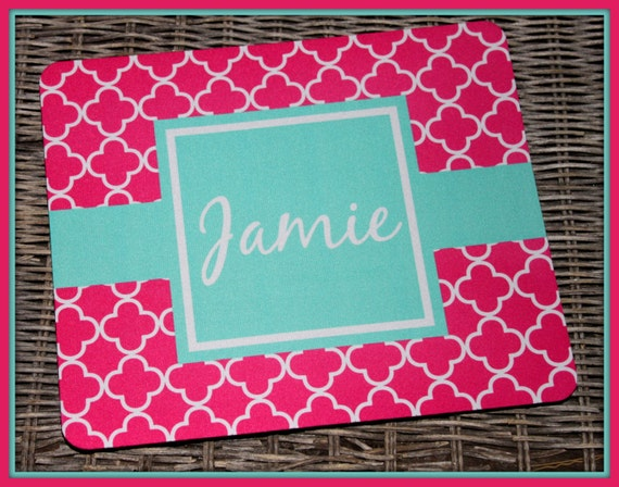 Personalized Mouse Pad, Office, Co-Worker, Mousepad, Monogrammed Mouse Pad, Monogrammed Mousepad, Custom Mouse Pad, Mouse Pad