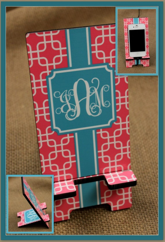 New Job Gifts Teacher Gift Cell Phone Stand Monogrammed Gift Personalized Boss Gift Desk Charger Stand Phone Dock Docking Station Holder