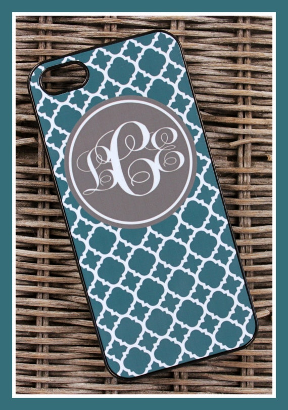 Cell Phone Case For iPhone 7+ 7s 7 6+ 6s 6 5 Plus Samsung Galaxy S3 S4 S5 Note Monogrammed Custom Personalized Monogram Mobile Accessories