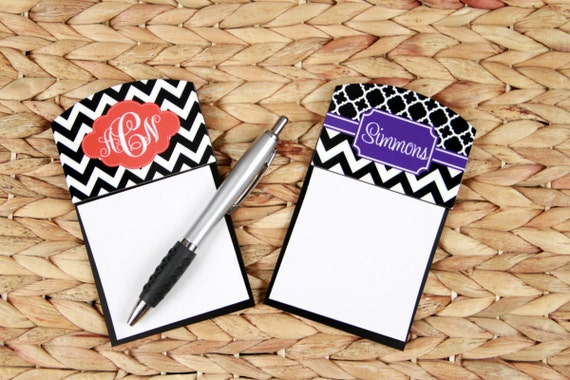 Gifts for Coworkers Sticky Note Holder Office Accessories Monogrammed Personalized Desk Going Away Gift For Coworker Leaving Custom