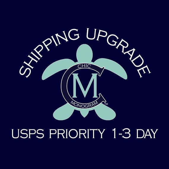 Shipping Upgrade to USPS Priority 1-3 Day