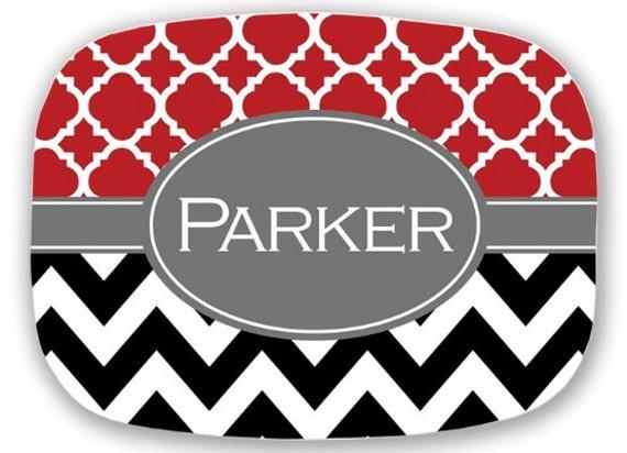 Personalized Platter Monogram Platter Custom Platter Serving Platter Hostess Wedding Gift Housewarming Home Decor Gifts for Mom Monogrammed