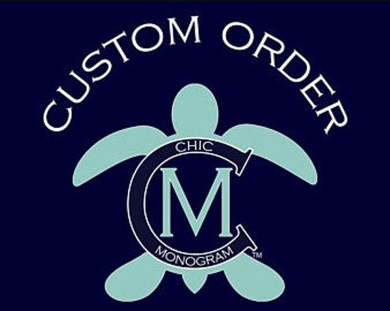 Custom Order for Kimberly - Steering Wheel Cover