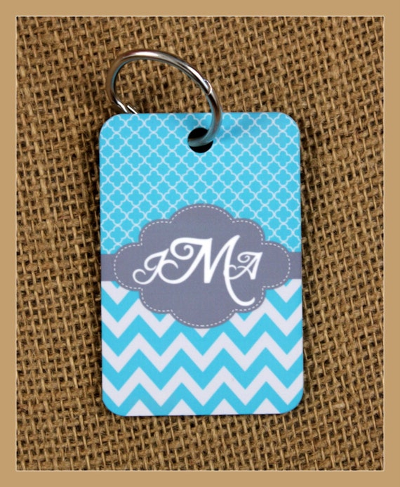 Personalized Key Chain Monogrammed Gifts Cute Car Accessories For Women Luggage Tags Personalized Custom Gifts Bridal Party Bridesmaids