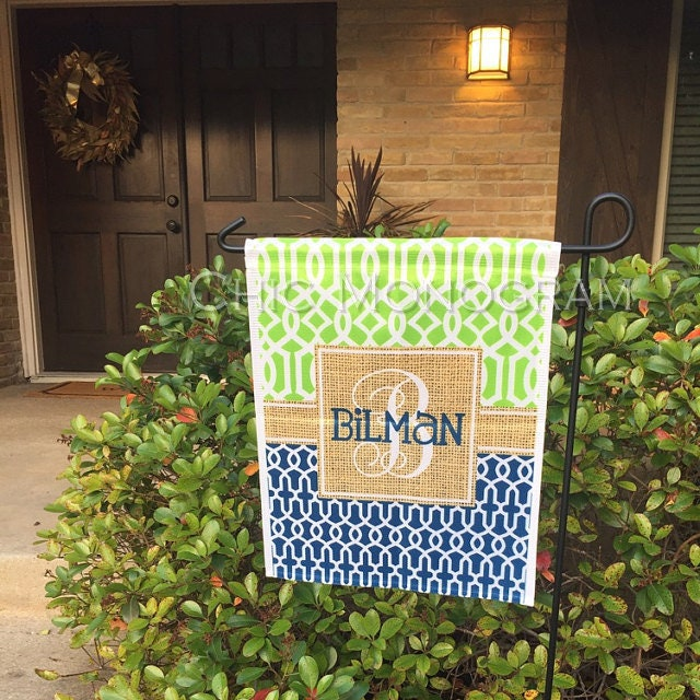 Gifts for Grandparents Personalized Garden Flag Monogrammed Outdoor ...