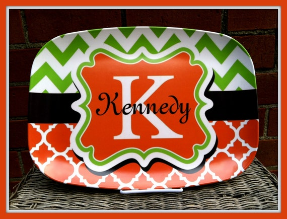 Personalized Gifts for Mom Personalized Platter Monogram Serving Tray Custom Platter Serving Platter Gifts for Cooks Monogrammed Gifts
