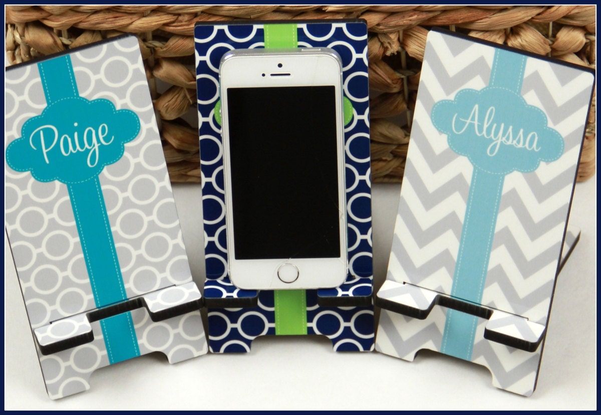 teacher gift new job gift custom office decor cell phone stand