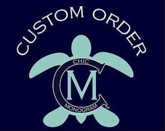 Custom Order for Tana