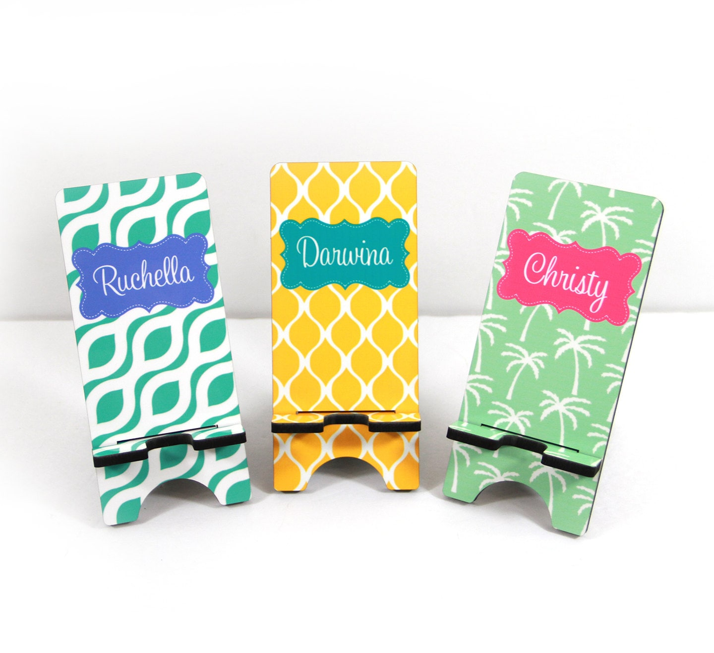 Employee Gift Cell Phone Stand Monogrammed Gift Co Worker