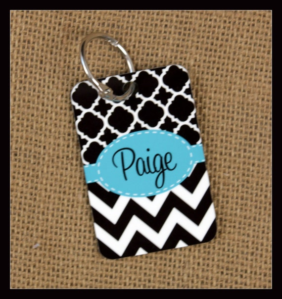 Bag Tags Monogrammed Gifts Gym Bag Duffle Suitcase Luggage Tags Personalized Custom Gifts Bridal Party Bridesmaids Groomsmen