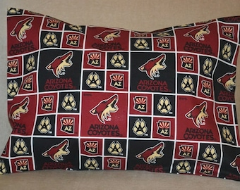 Travel Pillow Case / Child Pillow Case for your NHL ARIZONA COYOTES Hockey Team