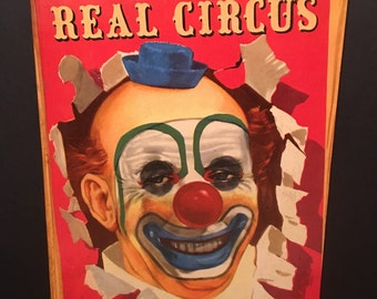 The Big Book Of The Real Circus- 1951 First Edition Hardcover