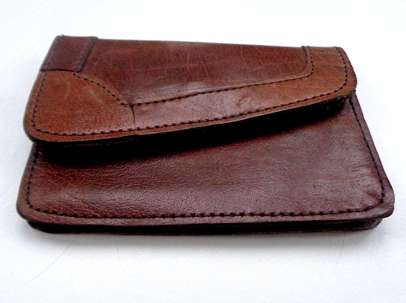 Leather coin purse a vintage gift from Ireland