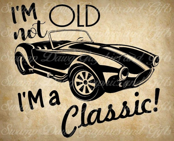 Car Svg Classic Car Svg Muscle Car Svg Silhoutte Cricut Etsy