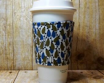 Fabric Coffee Cozy / Stringed Lights Coffee Cozy / Coffee Cozy / Tea Cozy