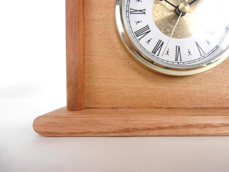 Clock Pallet Wood Clock Rustic Wood Clock Rustic Pallet   Etsy