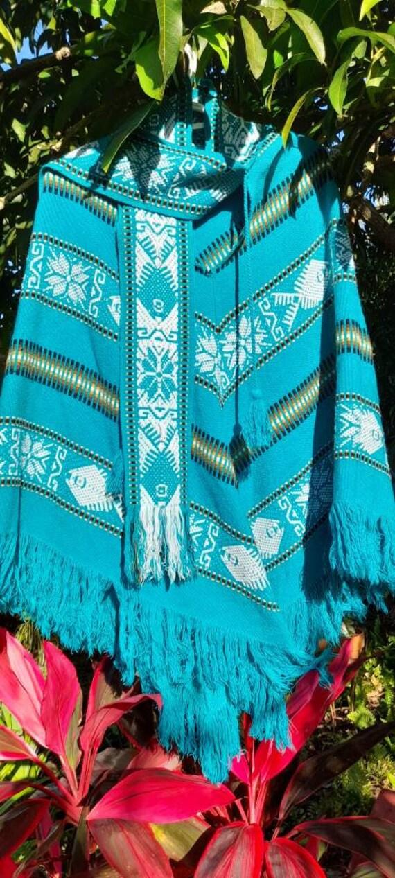 Vintage South American Poncho