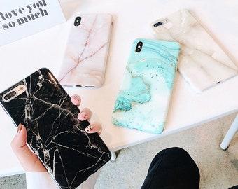 dbdad3b4791b0d Marble iPhone XS case