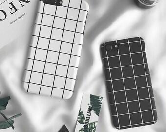 0708bfc4c75c0b Grid Retro iPhone XS case