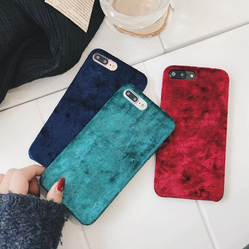 100% authentic 98484 0344a Velvet iPhone XS Case, iPhone X Case, iPhone Xs Max, iPhone 8 plus Case,  iPhone 7 Plus Case, iPhone 7 Case, iPhone 6s, iPhone 8 Case