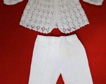 Heart Hem Crochet Outfit