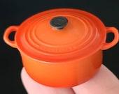 Dollhouse Pot- Miniature cooking -cookware- Dollhouse kitchen pans.