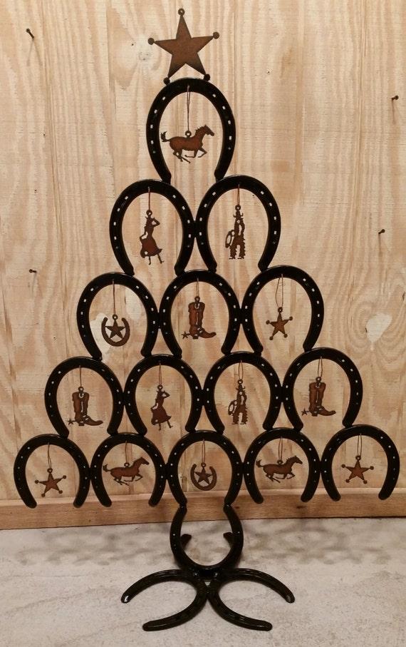 image 0 - Horseshoe Christmas Tree