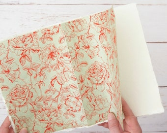 Handmade sketchbook, Travel sketchbook, Art Journal, Khadi Paper, A5 Blank Book