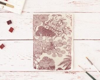 Cotton rag sketchbook, Watercolour book, Art journal, Artist book, Lightweight sketchbook, Drawing book, A5 size