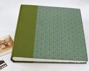 Hand bound Photo Album, Traditional Album, Family Picture Album, Photo Book Maker, Memory Scrapbook, Gifts for Him