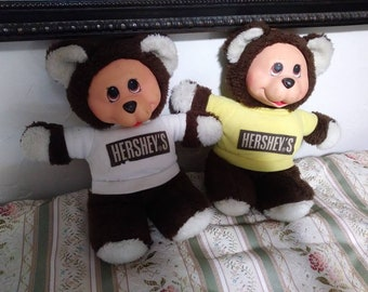 Vintage ideal toy Hershey's bears
