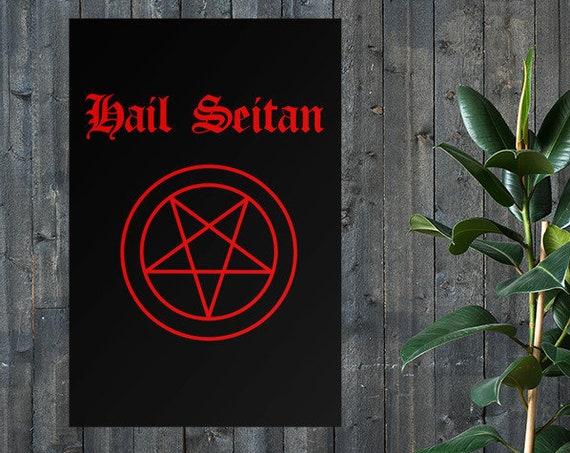 PRINT- Hail Seitan