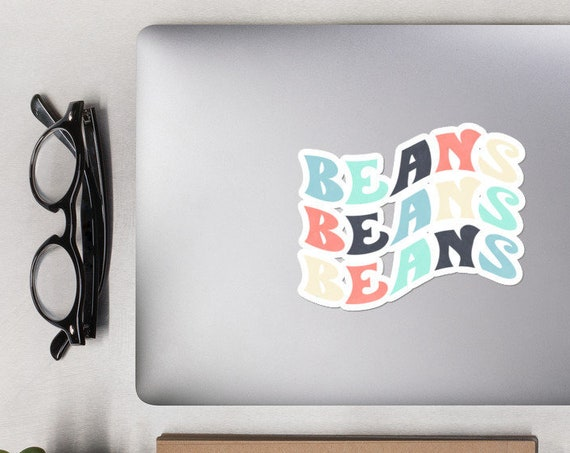 BEANS Bubble-free stickers