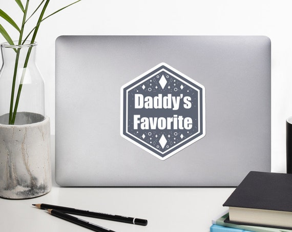 Daddy's favorite Bubble-free stickers